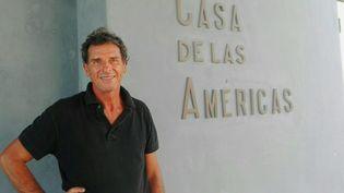 """L'écrivain EduardoFernando Varela, auteur de """"Patagonie route 203"""", 2020 (Métailié)"""