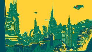 Carbonne : 1er numéro revue de SF illustration  (Carbone / Fauns)