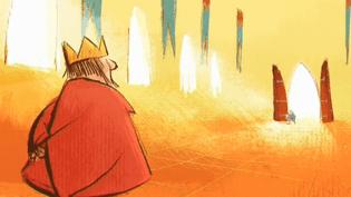 """""""La licorne"""", film d'animation de Rémi Durin (2016) présenté au festival du court métrage de Clermont-Ferrand  (Capture d'image France 3/Culturebox)"""