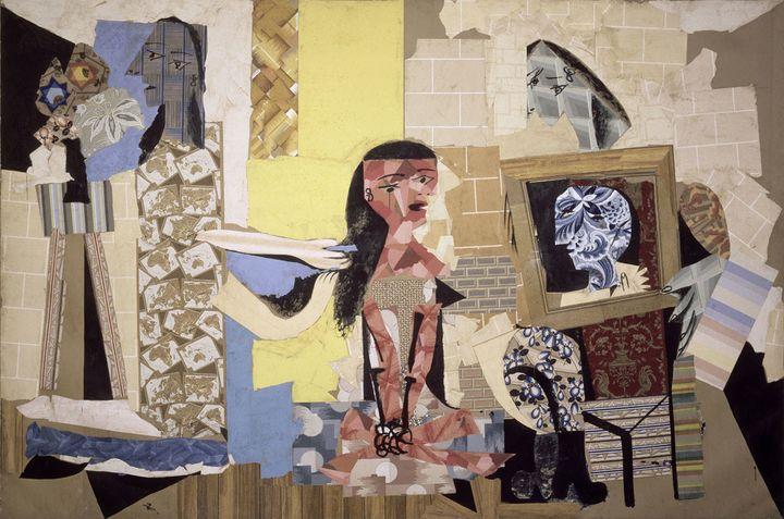 """Pablo Picasso, """"Les Femmes à leur toilette"""", Paris, 1937, Musée national Picasso-Paris, Dation Pablo Picasso, 1979  (Succession Picasso 2018)"""