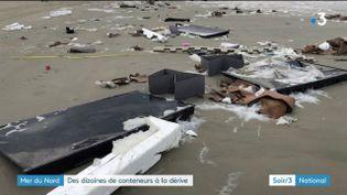 Des téléviseurs échoués aux Pays-Bas (France 3)