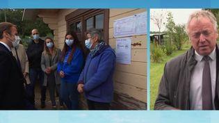 Journée mondiale des animaux : Emmanuel Macron en visite dans un refuge de la SPA (FRANCE 3)