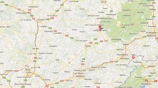 L'agression s'est déroulée à Luxeuil-les-Bains (Haute-Saône), le 5 février 2014. (GOOGLE MAPS)