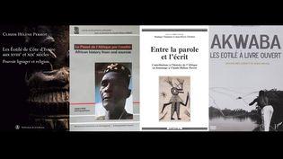 Livres de Claude-Hélène Perrot (franceinfo Afrique)