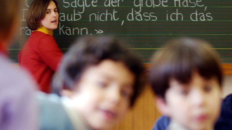 Les élèves allemands sont meilleurs que les français dans l'apprentissage des langues étrangères. (MAXPPP)