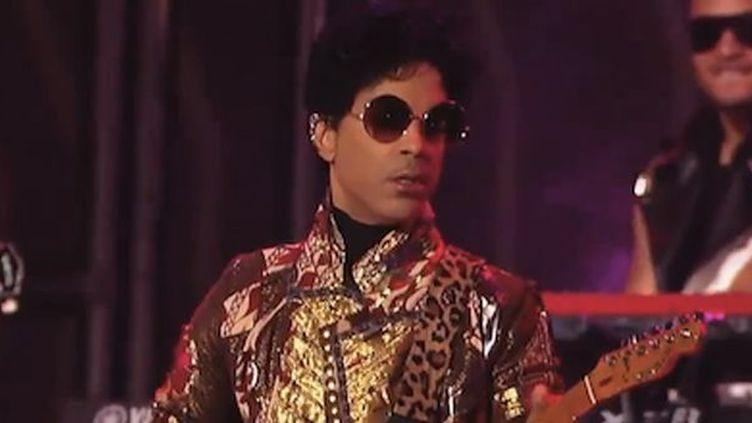 Prince au Jimmy Kimmel Show le 23 octobre 2012.  (Jimmy Kimmel)