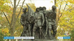 Le monument en hommage aux soldats des colonies françaises à Reims (Marne) (France 3)