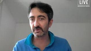 L'archéologue françaisFrançois Desset (CAPTURE D'ÉCRAN YOUTUBE / UNIVERSITA DI PADOVA)