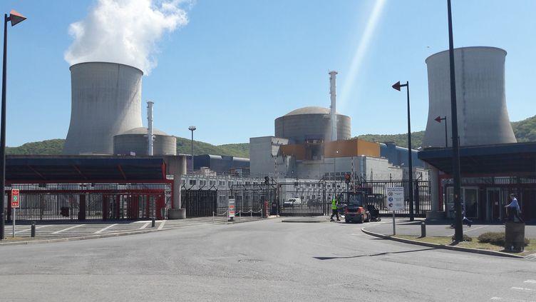 Le réacteur EPR Flamanville 3. (DELPHINE SIMON / FRANCE-INTER)