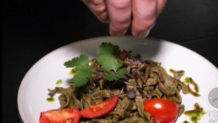 Ce restaurant ne sert que des insectes. (Capture écran France 2)