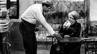 """Raimu et Alida Rouffe dans """"Marius"""", réalisé en 1931 par Alexander Korda.  (Les Films Marcel Pagnol / Collection Christophel)"""
