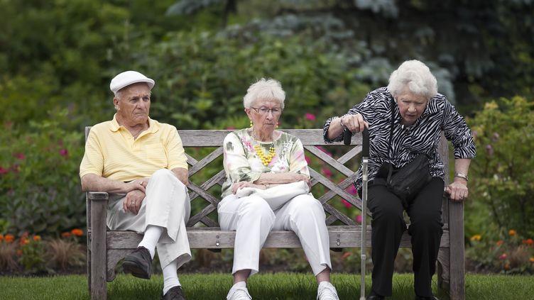 Des seniors à Winnipeg, au Canada. (KEN GILLESPIE / GETTY IMAGES )