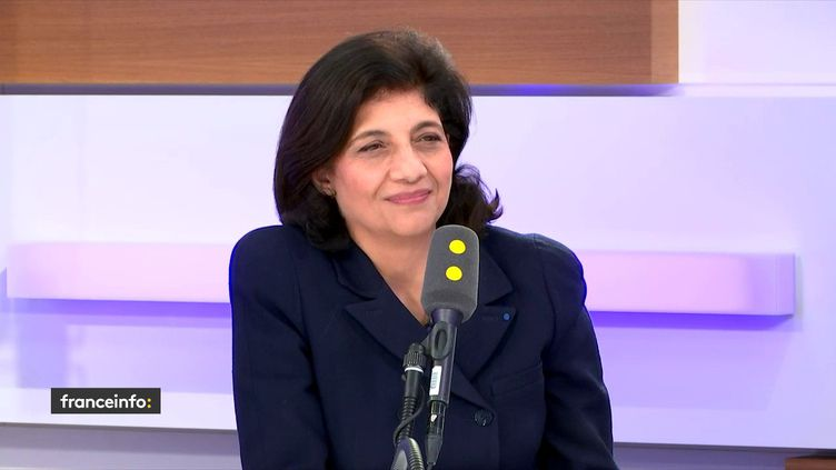 Christiane Feral-Schuhl, sur franceinfo, jeudi 16 janvier 2020. (FRANCEINFO / RADIOFRANCE)