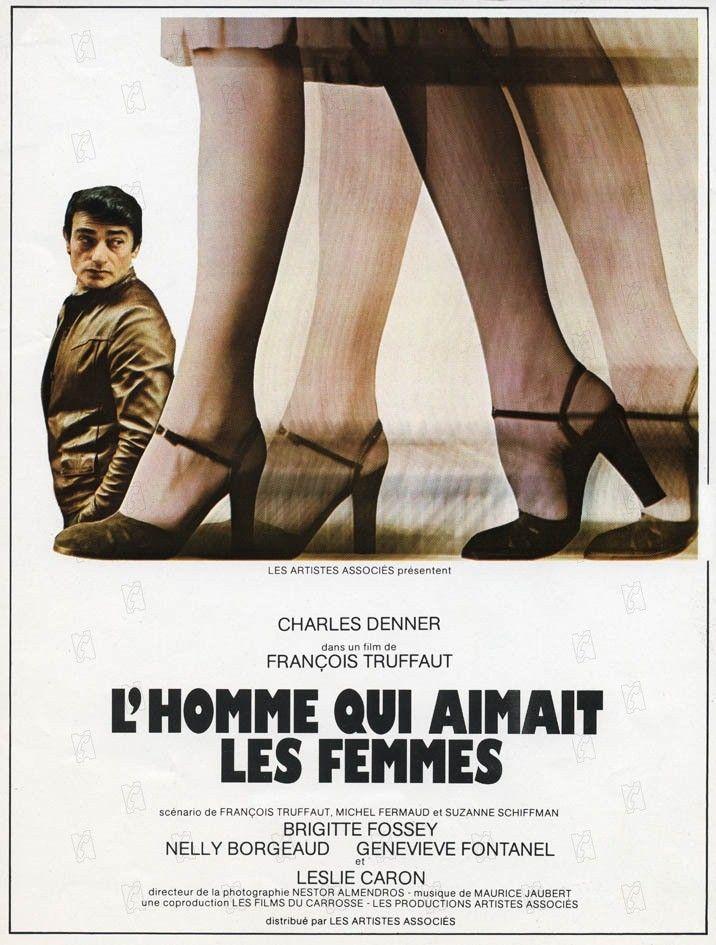 """Affiche du film de François Truffaut """"L'homme qui aimait les femmes"""" sorti en 1977  (DR)"""