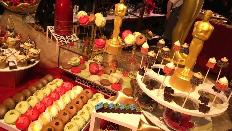 Pas moins d'une quarantaine de desserts attendent les 1 500 invités de latraditionnelle fête post-Oscars, leGovernor's Ball. (LOÏC PIALAT / RADIO FRANCE)