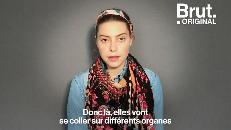 """VIDEO. """"C'est comme avoir deux poignards dans l'utérus"""" : Atteinte de l'endométriose, elle raconte son combat quotidien (BRUT)"""