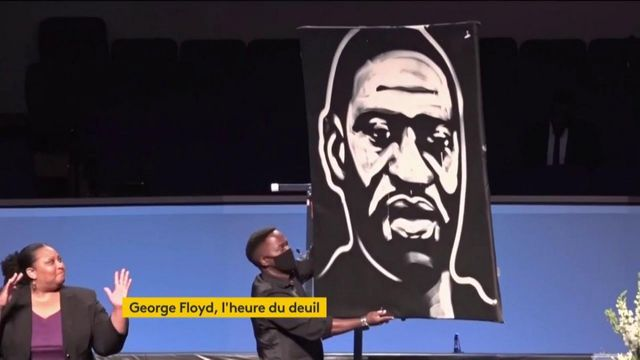 États-Unis : funérailles de George Floyd à Houston