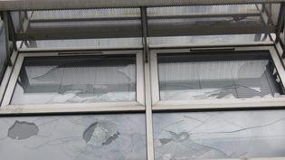 Le lycée Suger de Saint-Denis (Seine-Saint-Denis) a été évacué, mardi 7 mars, après une matinée de violences. (MAXPPP)