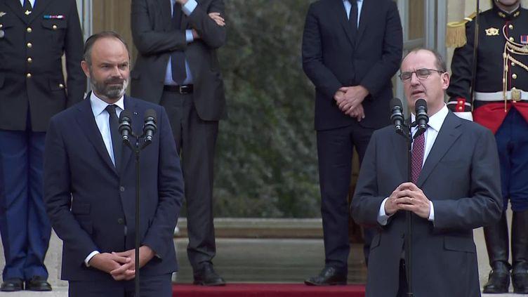 Le discours de Jean Castex lors de la passation de pouvoir révèle son accent du Sud-Ouest (FRANCEINFO)