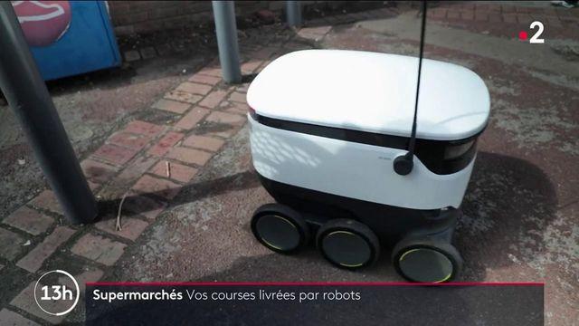 Angleterre : un robot-cargo livre vos courses directement à domicile