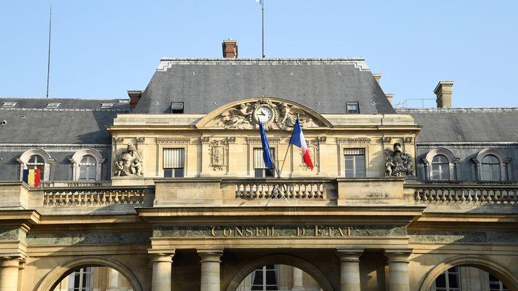 Le Conseil d'État, place du Palais Royal à Paris, 18 octobre 2018. (BERTRAND GUAY / AFP)