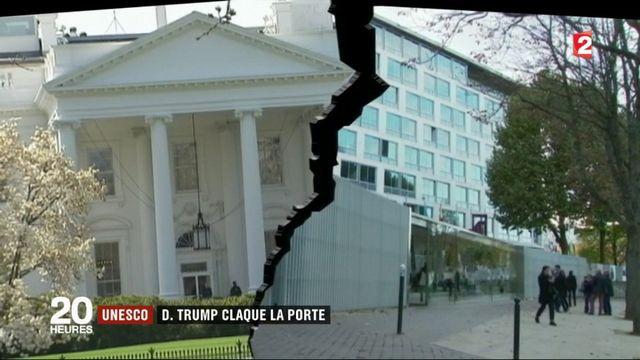 Unesco : les États-Unis claquent la porte