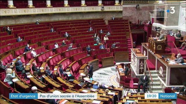 Crise sanitaire : le prolongement de l'état d'urgence fait débat à l'Assemblée nationale