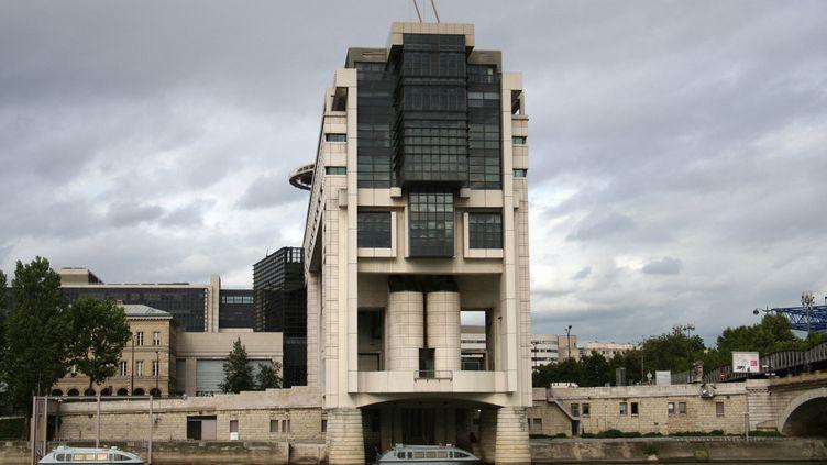 Le ministère de l'Économie et des Finances dans le quartier Bercy à Paris. Photo d'illustration. (CATHERINE GRAIN / RADIO FRANCE)