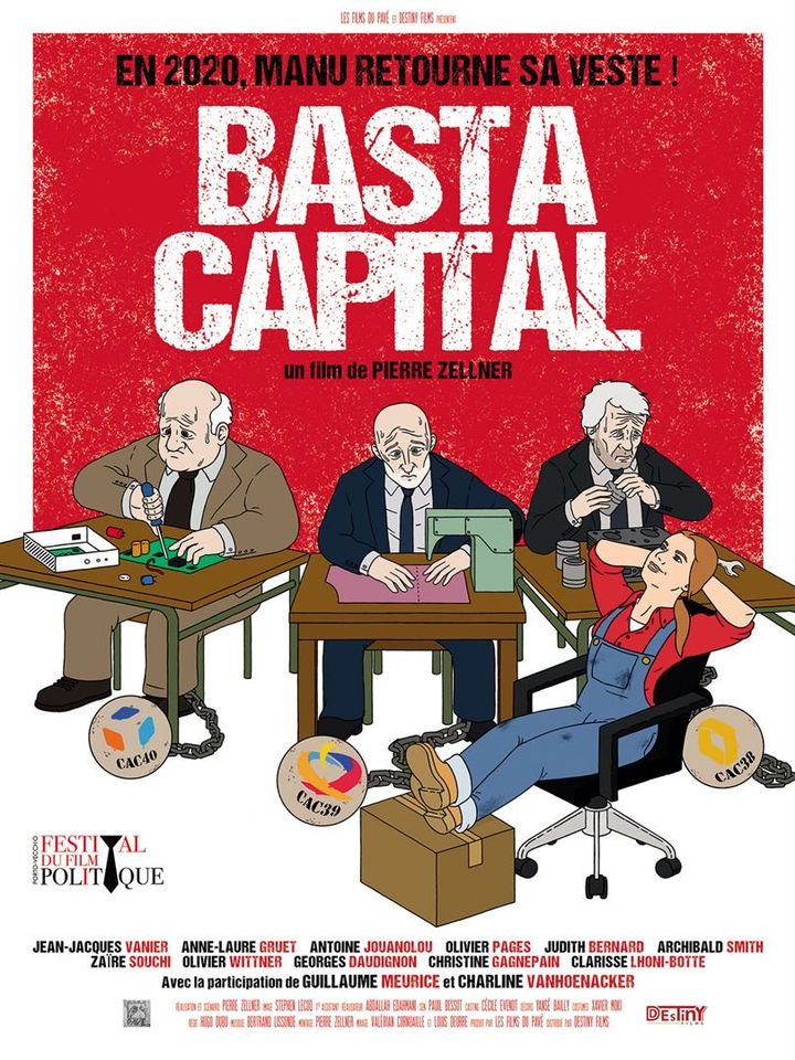 "L'affiche de ""Basta capital"" de Pierre Zellner. (Copyright Destiny Films)"