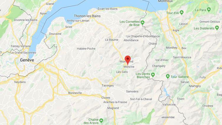Morzine (Haute-Savoie). (CAPTURE D'ECRAN / GOOGLE MAPS)