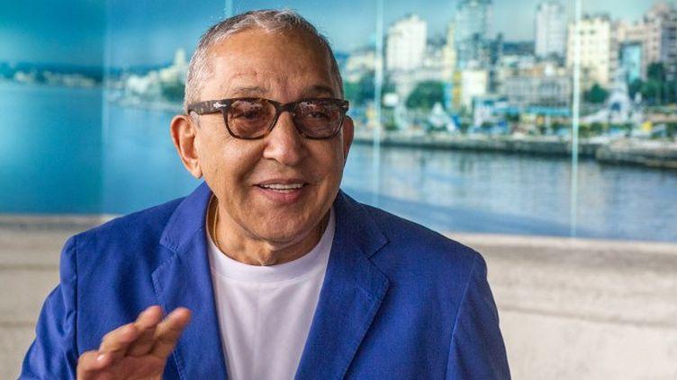Le musicien cubain Juan Formell, fin 2013 à la Havane  (YAMIL LAGE / AFP)