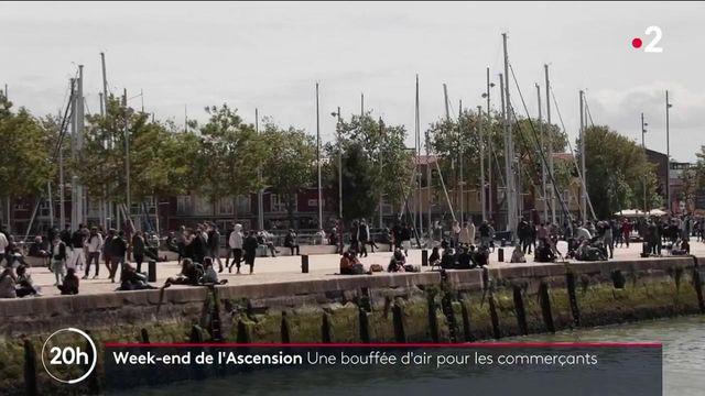 Pont de l'Ascension : une bouffée d'air pour les commerçants de La Rochelle
