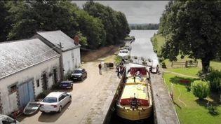 Le canal de Nantes (Loire-Atlantique) a rouvert après une longue phase de travaux. Un bonheur pour les plaisanciers. (France 3)