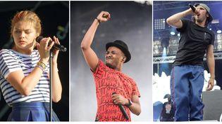 Louane, Soprano et Orelsan font partie de la liste des nominés pour les Victoires de la musique qui auront lieu le 9 février 2018 à la Seine musicale à Paris.  (CITIZENSIDE / OLIVIER GOUALLEC / CITIZENSIDE / CROWDSPARK - GUILLAUME SOUVANT / AFP - CITIZENSIDE / KÉVIN NIGLAUT / Citizenside / CrowdSpark )