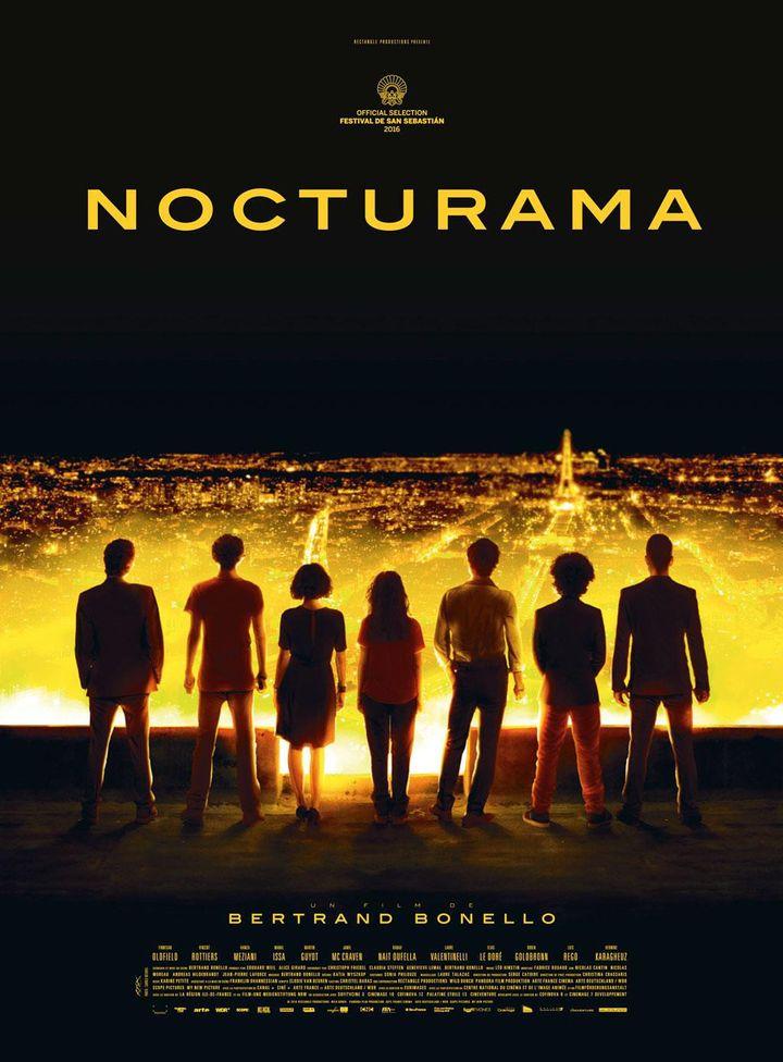 """Nocturama"" l'affiche  (Wild Bunch Distribution )"