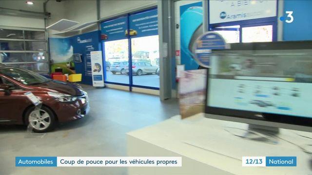 Automobiles : coup de pouce pour les véhicules propres