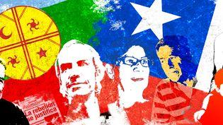 Les Chiliens protestent contre les inégalités qui minent leur pays. (PIERRE-ALBERT/FRANCEINFO)