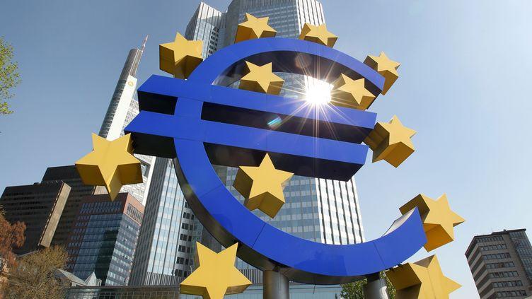 Le siège de la Banque centrale européenne, le 7 avril 2011 à Francfort (Allemagne). (DANIEL ROLAND / AFP)