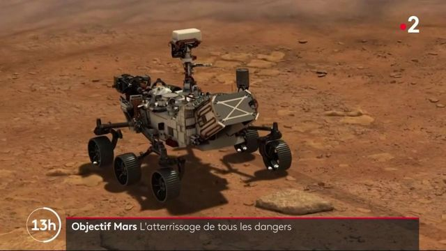 Astronomie : le robot Perseverance va bientôt atterrir sur Mars