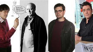 Les dessinateursCabu, Wolinski, Charb et Tignous, tués le 7 janvier 2014 à Paris  (SIPA)