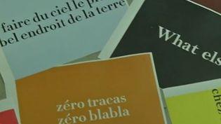 Des slogans de marques. (CAPTURE D'ÉCRAN FRANCE 2)