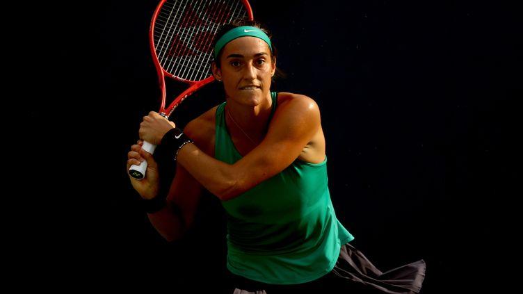 La Française Caroline Garcia s'est qualifiée pour les 8es de finale du tournoi de Cincinnati.  (MATTHEW STOCKMAN / GETTY IMAGES NORTH AMERICA)