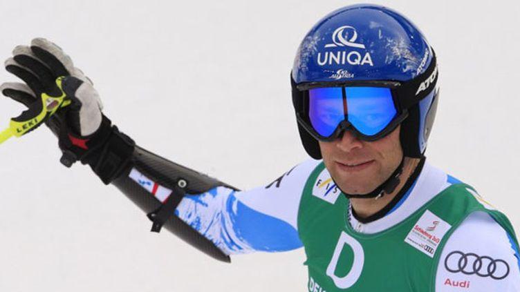 Le skieur autrichien Benjamin Raich