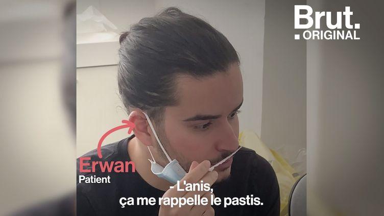 VIDEO. Covid-19 : la rééducation pour retrouver l'odorat, comment ça marche ? (BRUT)
