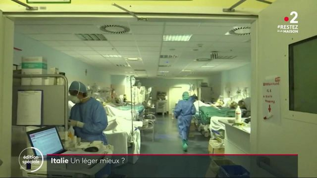 Coronavirus en Italie: un léger mieux observé