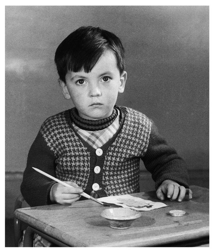 Claude Ponti enfant  (Photographie personnelle)