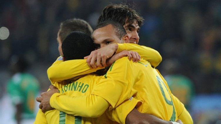 Les Brésiliens heureux (GABRIEL BOUYS / AFP)