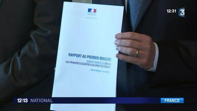 Code du travail : Robert Badinter a remis son rapport à Manuel Valls