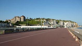 La ville de Dieppe (Seine-Maritime) le 23 juillet 2019. (GILLES TARGAT / AFP)
