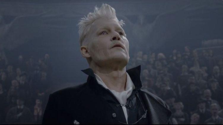 Image extraite du film Les Animaux fantastiques :Les Crimes de Grindelwald, réalisé par David Yates, à sortir mercredi 14 novembre au cinéma. (FRANCE 3)